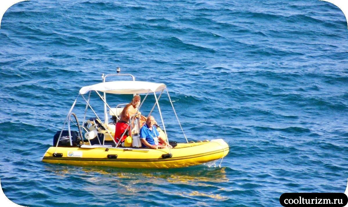 Виды на море остров Майорка лето