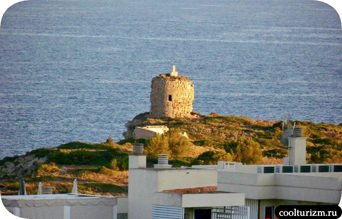 башня в Ильетас