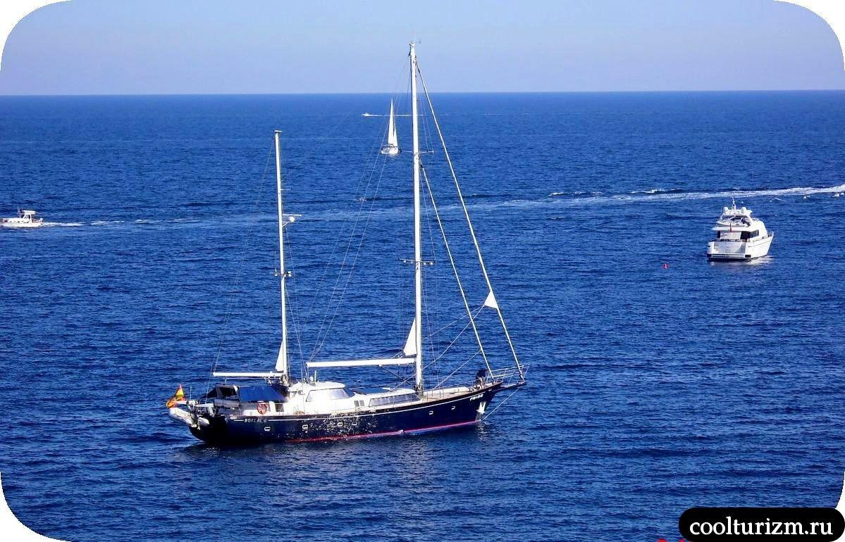 Виды на море остров Майорка Балеары
