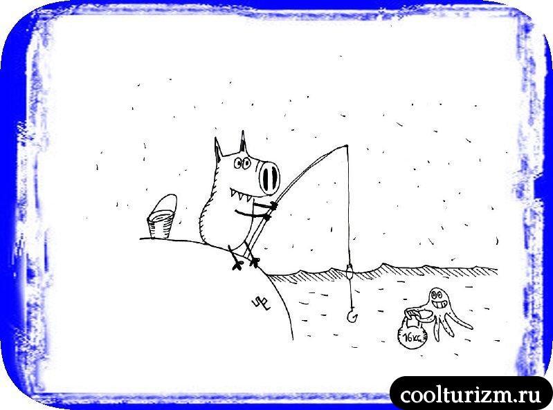 Рыбалка Свинни