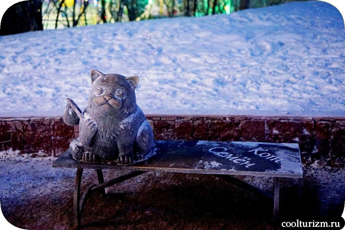 где находится кот Семен в Мурманске