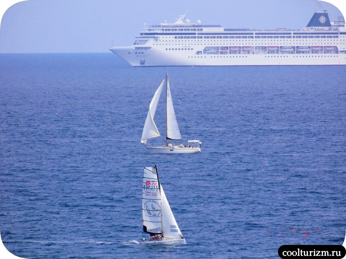 Виды на море остров Майорка Испания