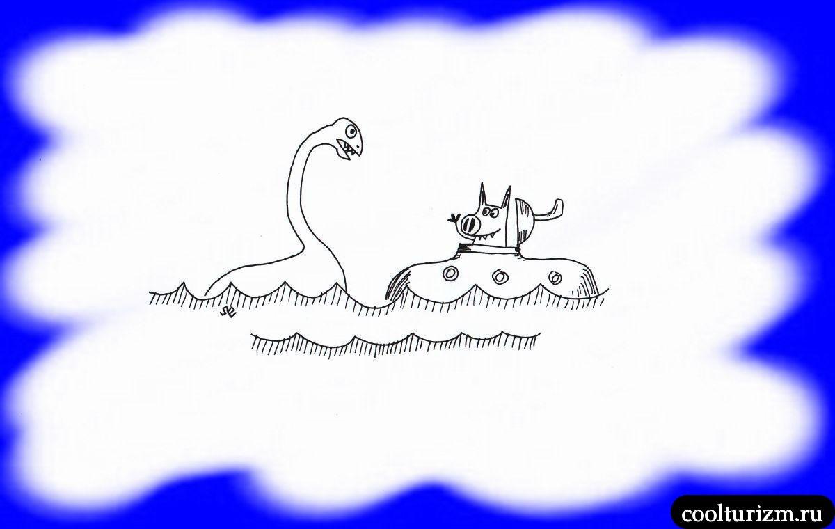 Подлинная история лохнесского чудовища