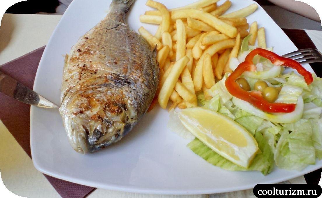 Уличная еда в Салоу Испания