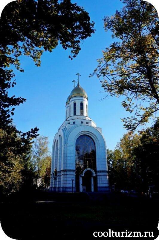 Часовня Петра и Февронии Муромских в калининграде