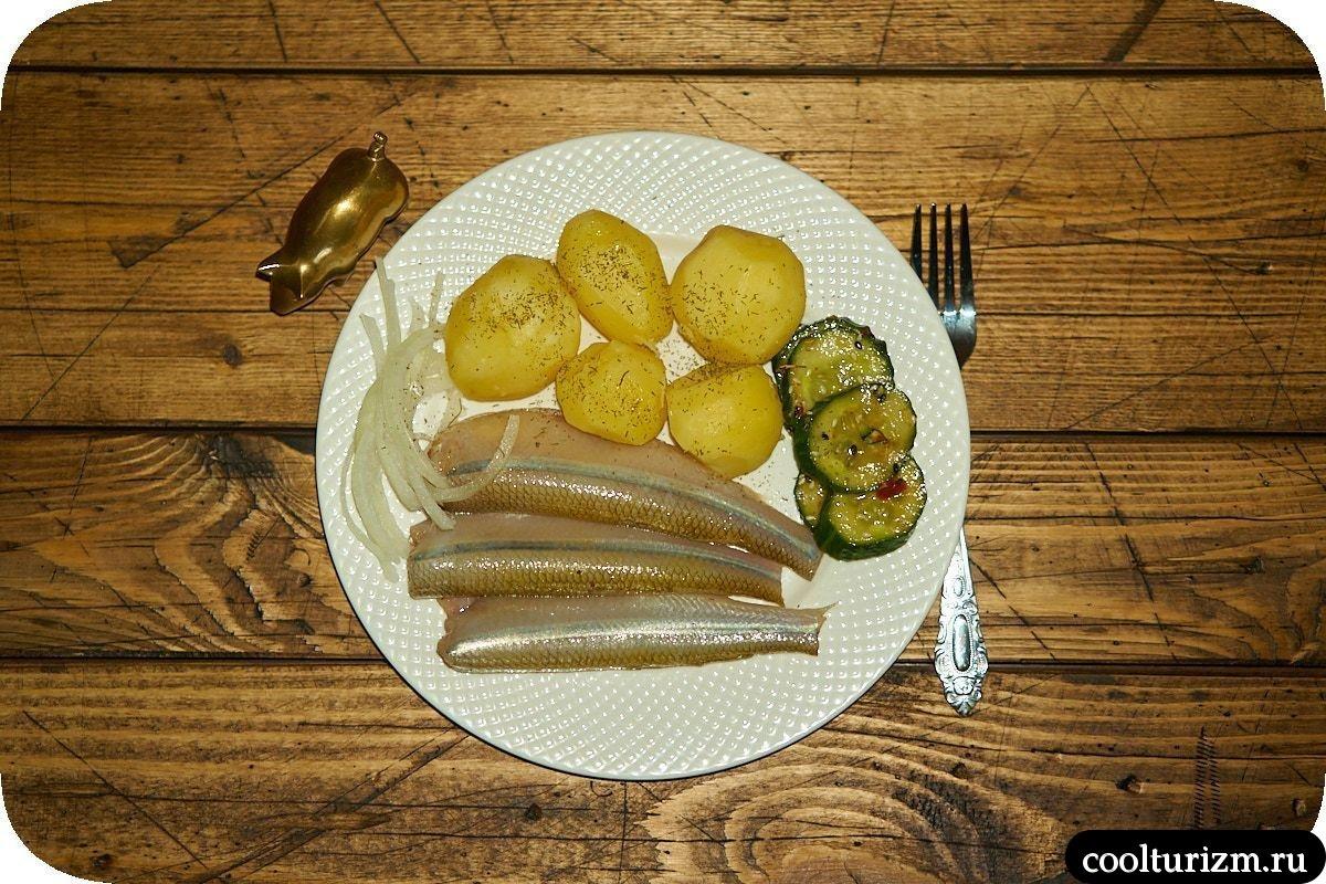 Корюшка соленая с картошкой рецепт