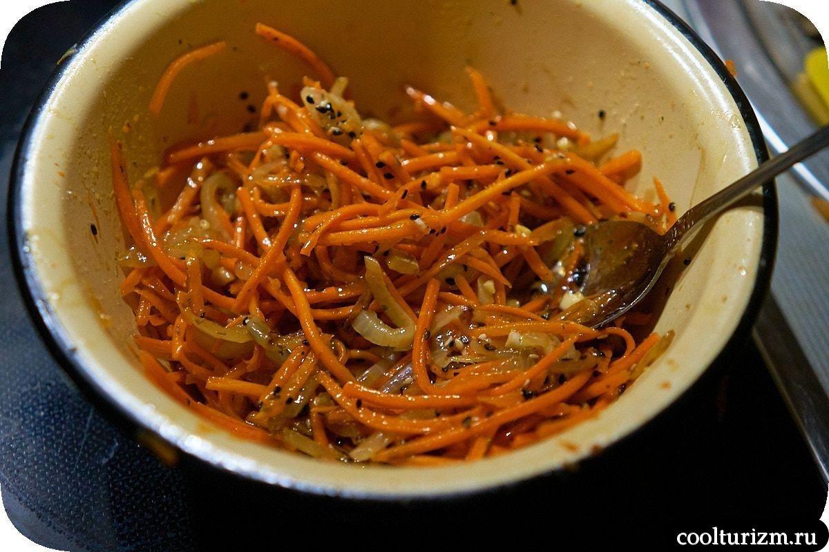 Ледяной гриб рецепт коралловый корейская морковь