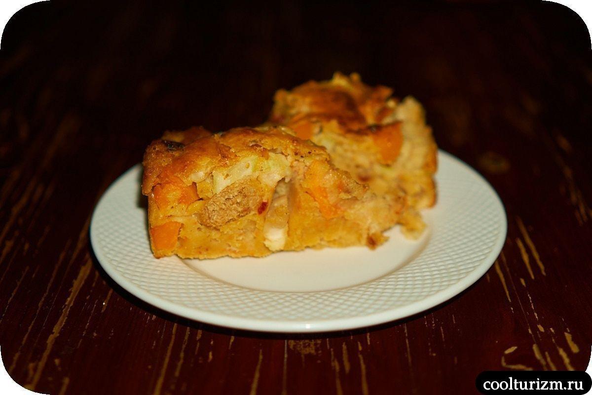 Пирог с кимчи и соевым мясом рецепт