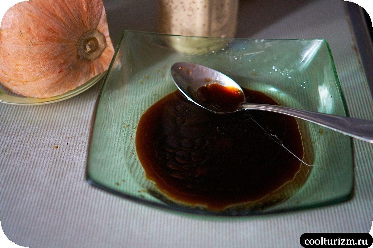 Стейк из тунца в кунжуте в маринаде
