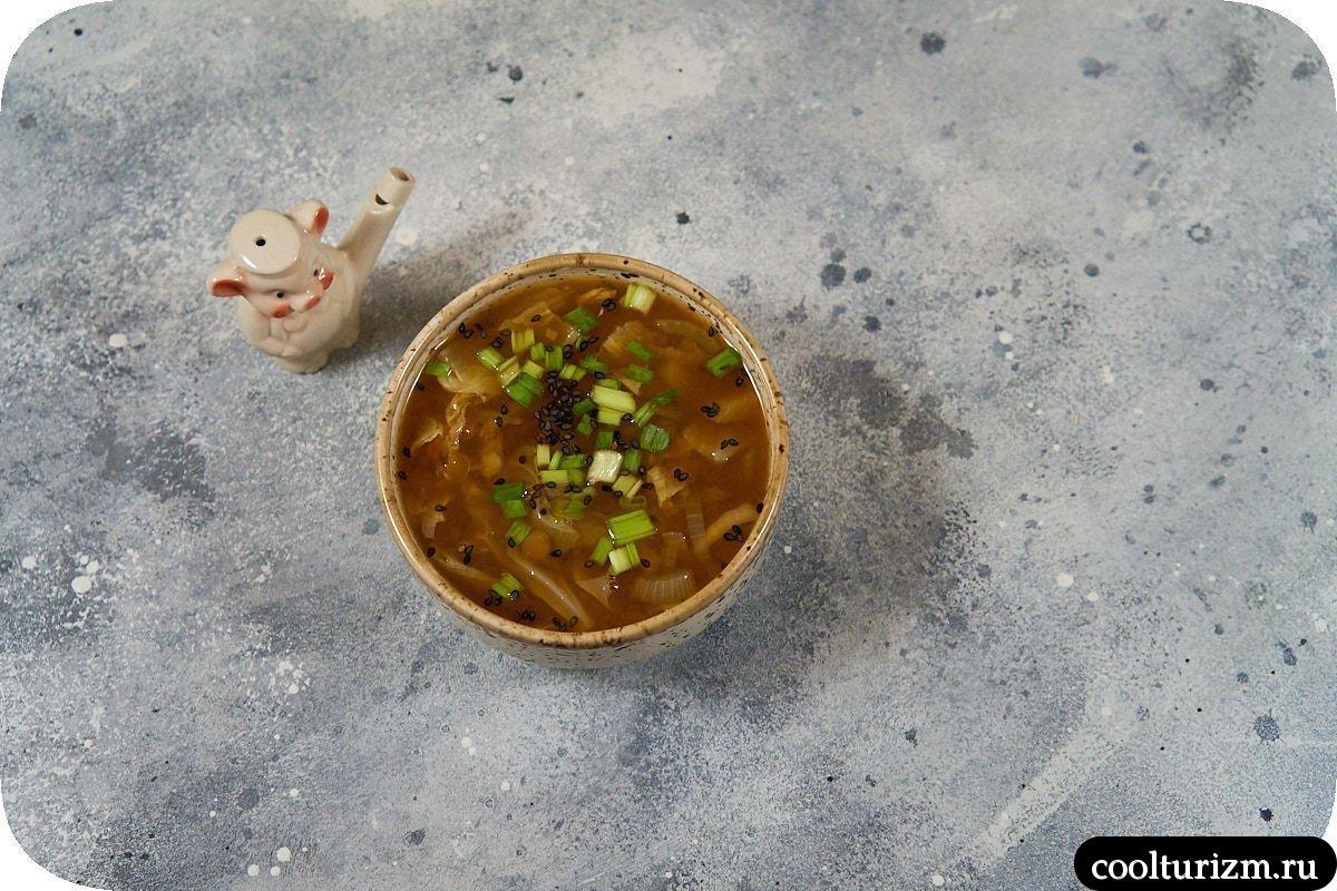 Вкусный суп из чечевицы без мяса пошагово