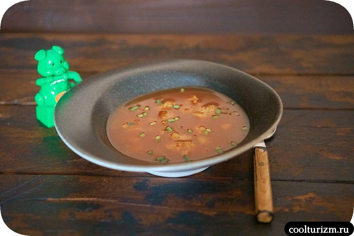 Суп с соевым мясом и кимчи рецепт