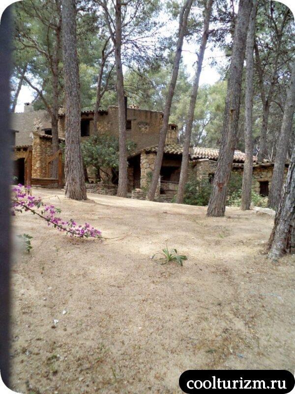 усадьба Мазия Каталония