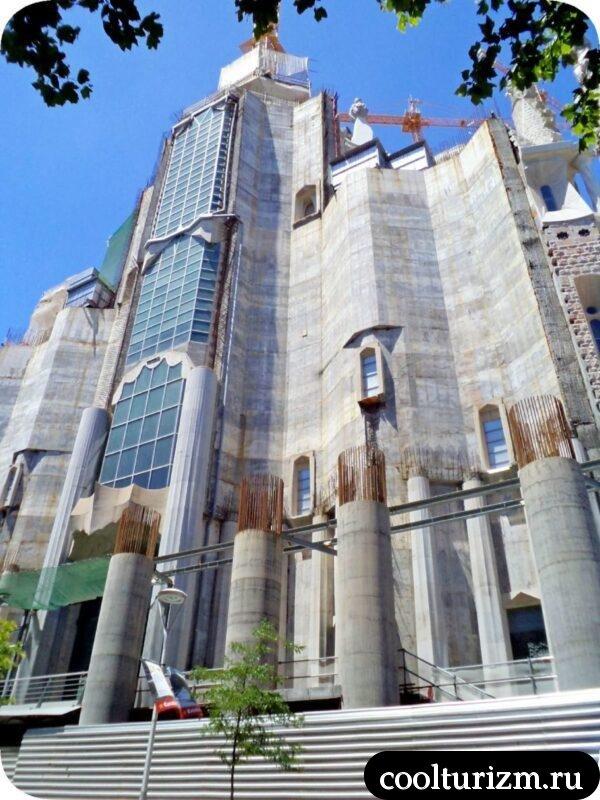 Храм Святого Семейства Гауди
