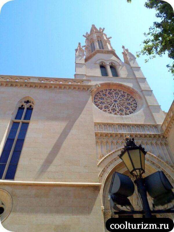 церковь Евлалии Майорка