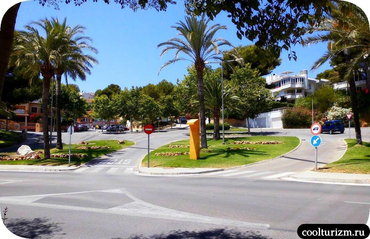 Пальма де Майорка улицы