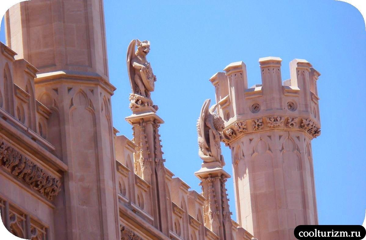 Дворец совета Пальмы де Майорки фото