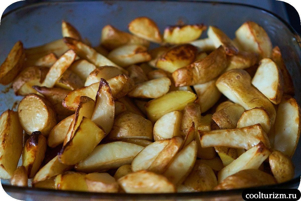 Картофель с соусом из тофу рецепт
