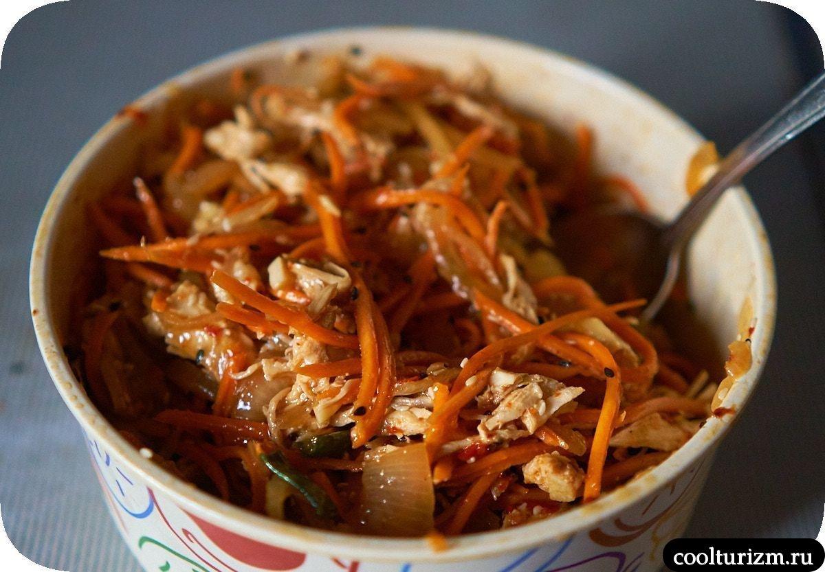 Хе из курицы с морковью как приготовить