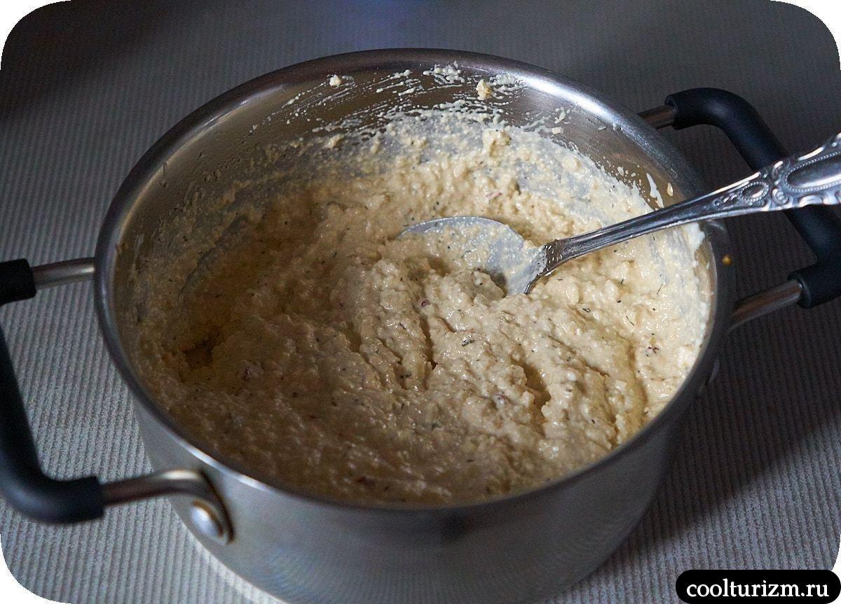 Картофель с соусом из тофу пошагово