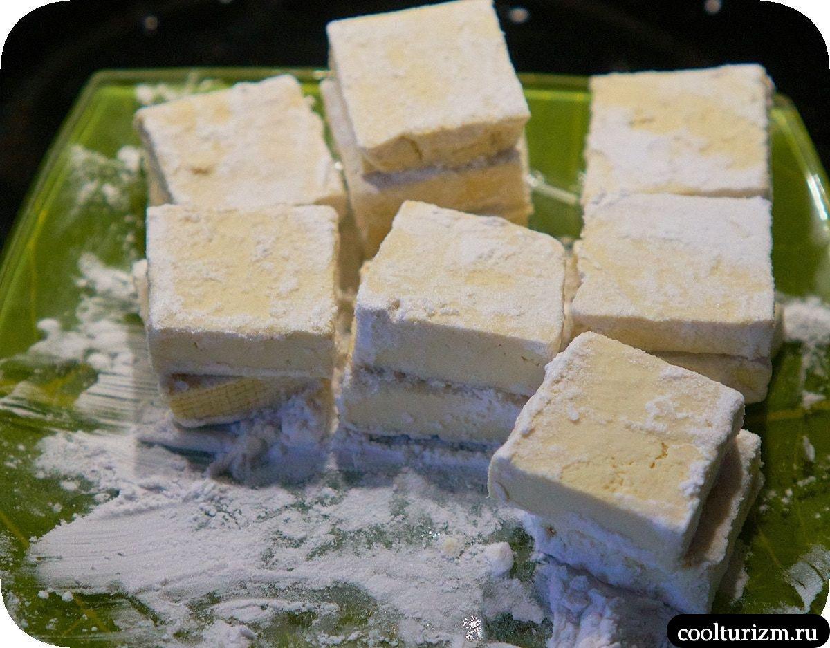 Тофу в апельсиновом соусе с рисом в крахмале