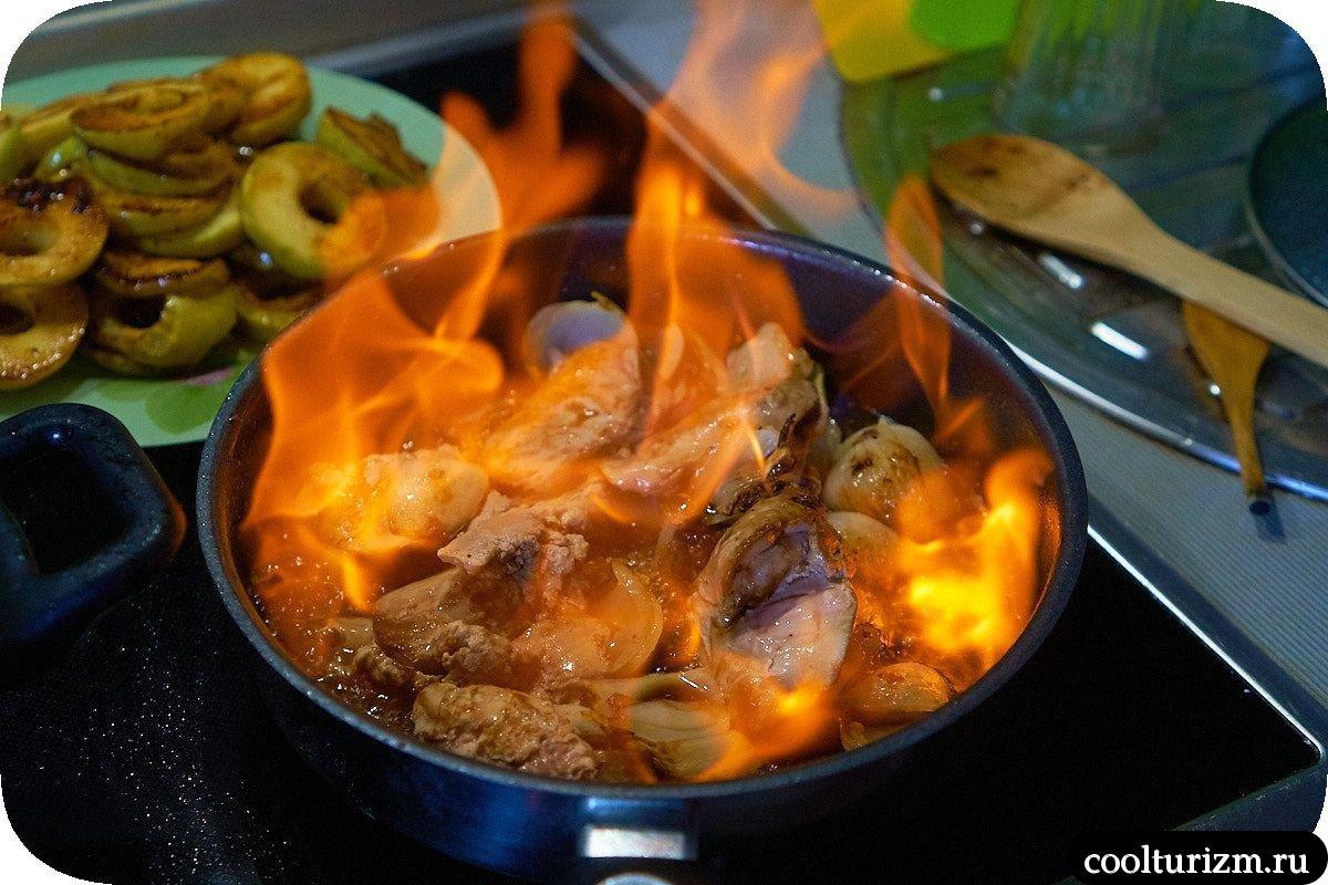 как приготовить утиную печень пошагово