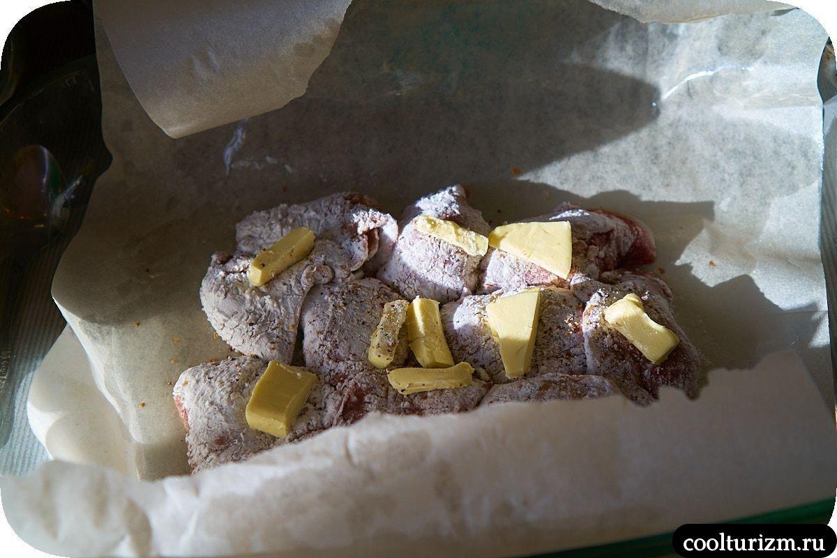 Утиная печень в пергаменте как приготовить