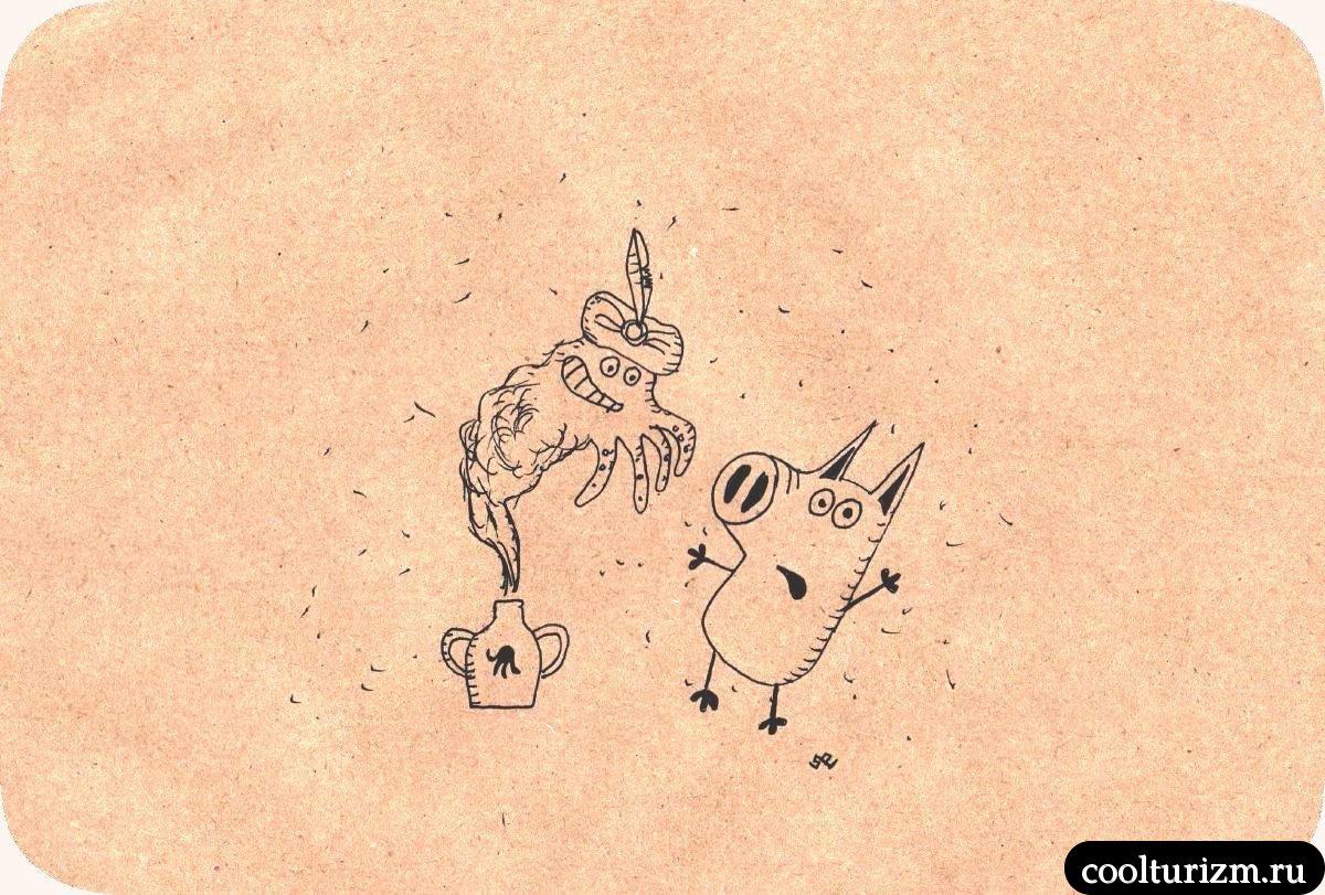 Тайна клада Свинни