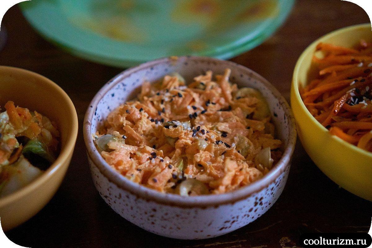 Салат из свежей моркови с майонезом
