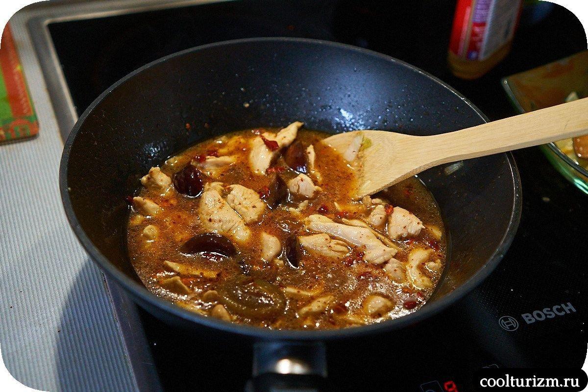 Токпокки с курицей и овощами рецепты