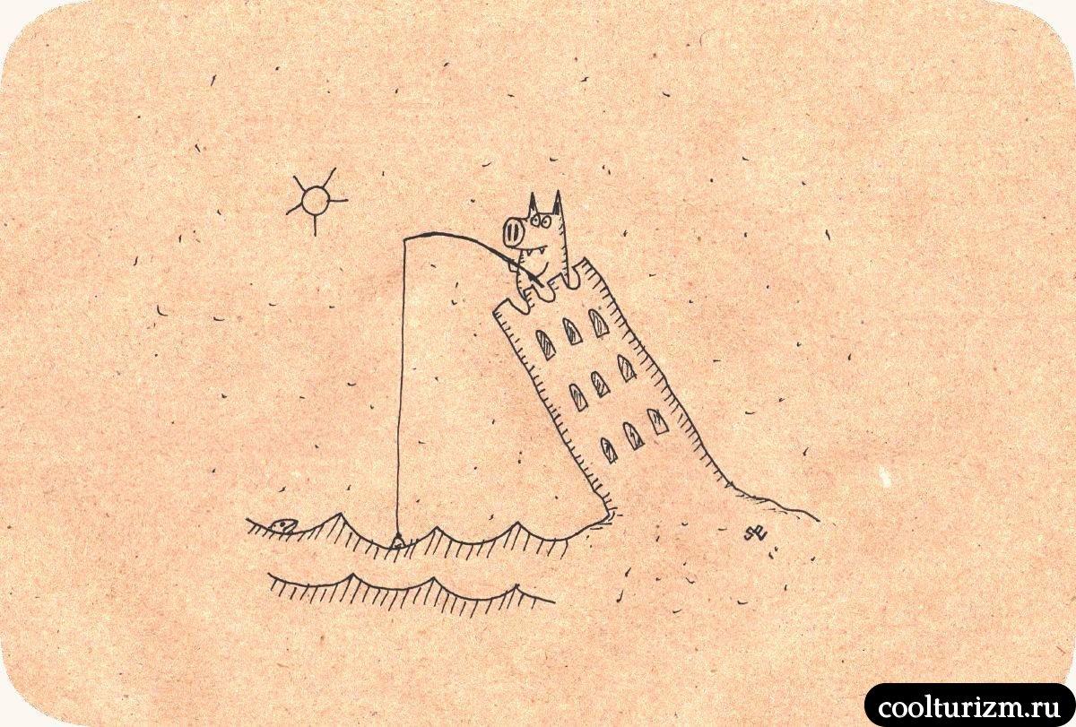 Пизанская башня и Свинни