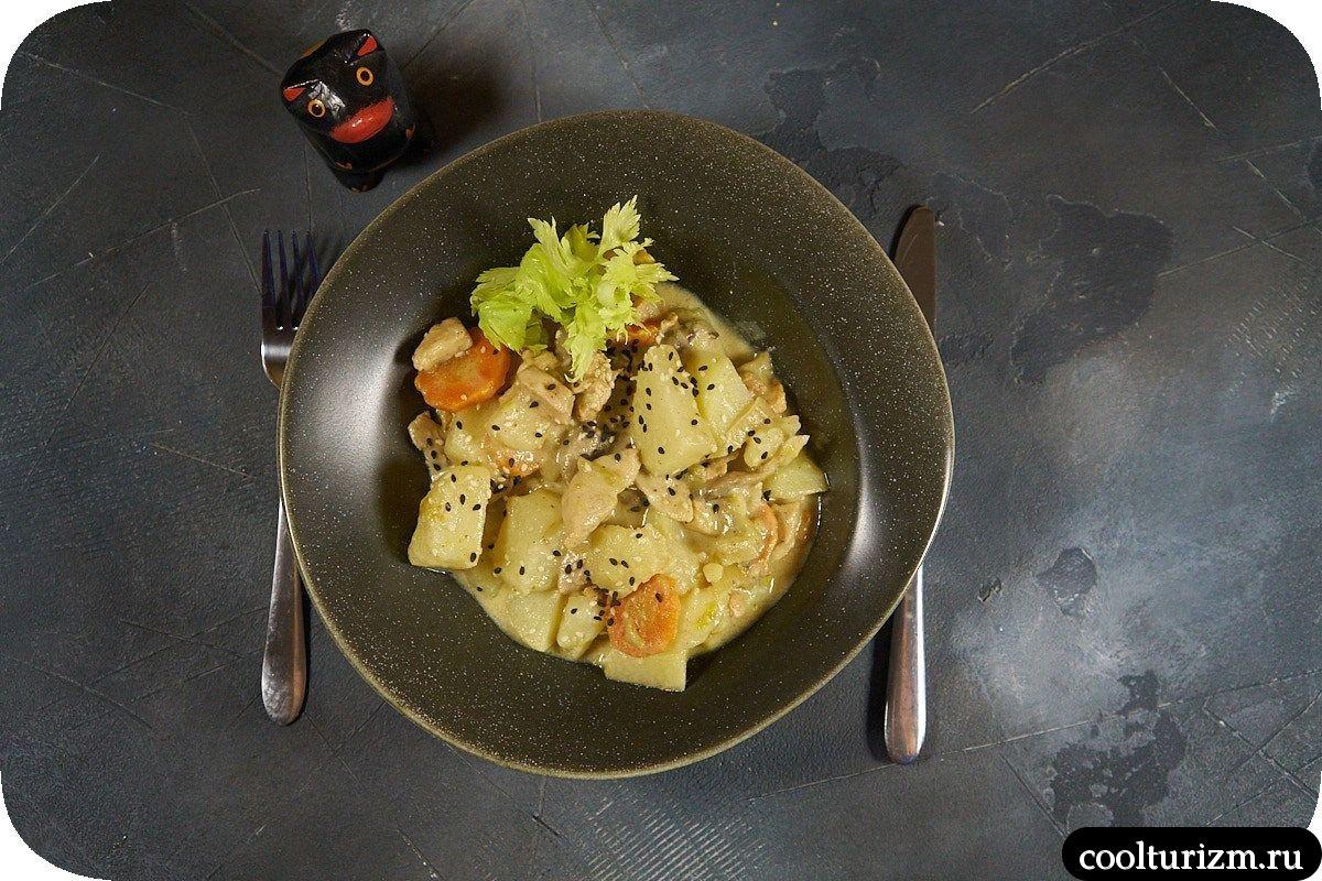 Рецепт вешенки с картошкой и курицей