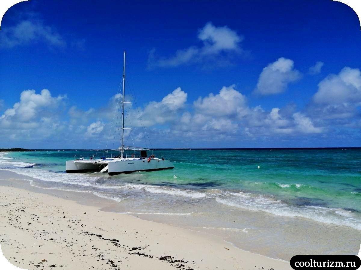 Бонита на берегу Кайо Сабиналь,Куба