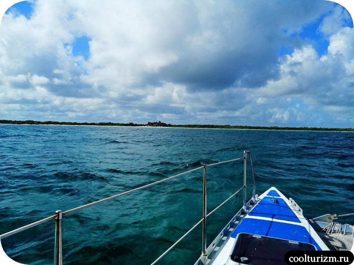 на пути на Пляж Playa Bonita Куба