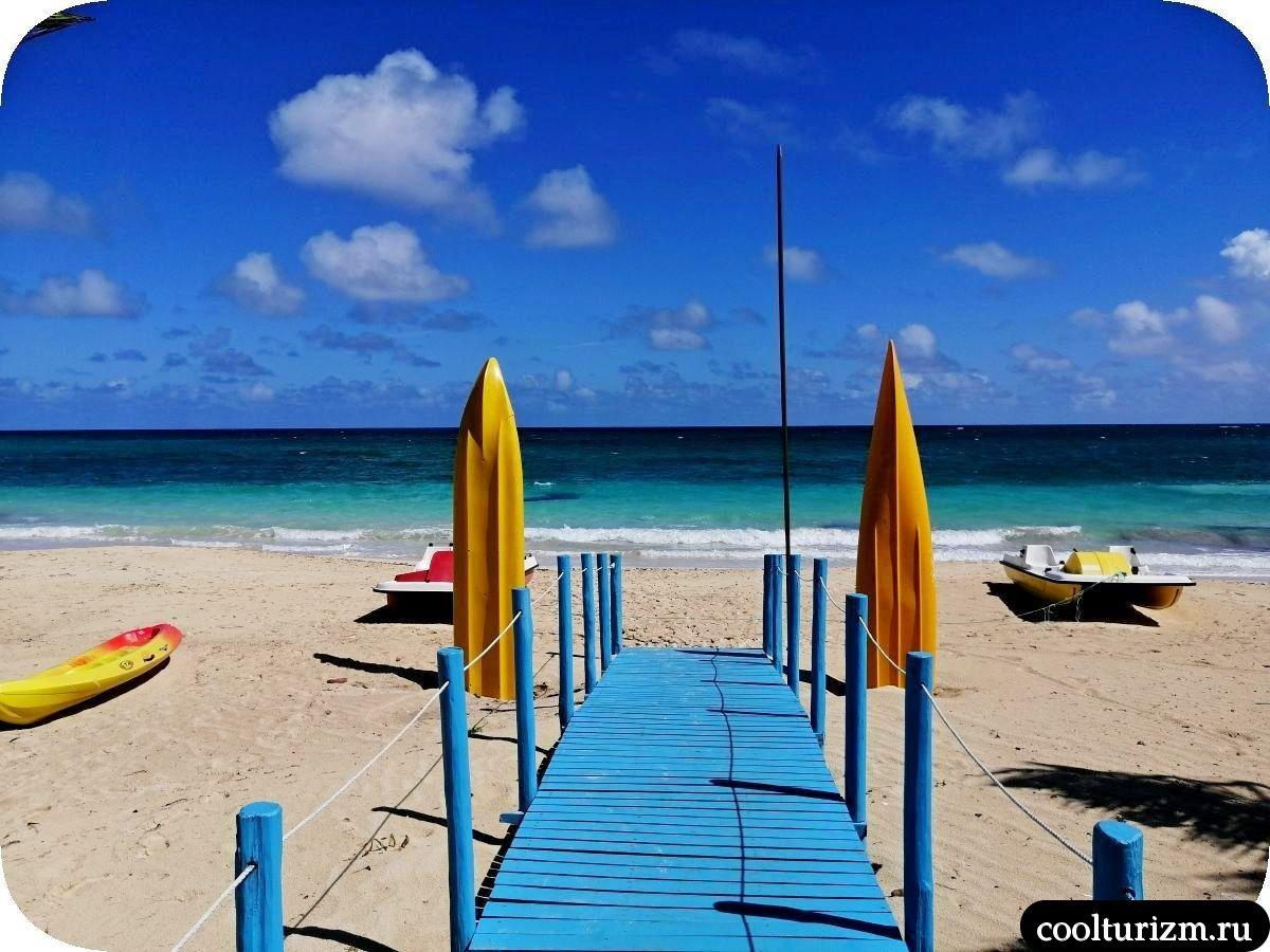 Плайя Бонита красивый пляж Куба