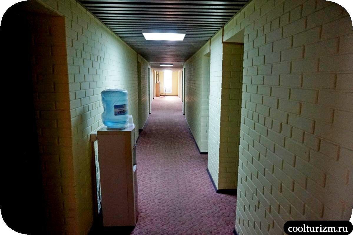 Гостевой дом Внуково 41а кулеры на этажах