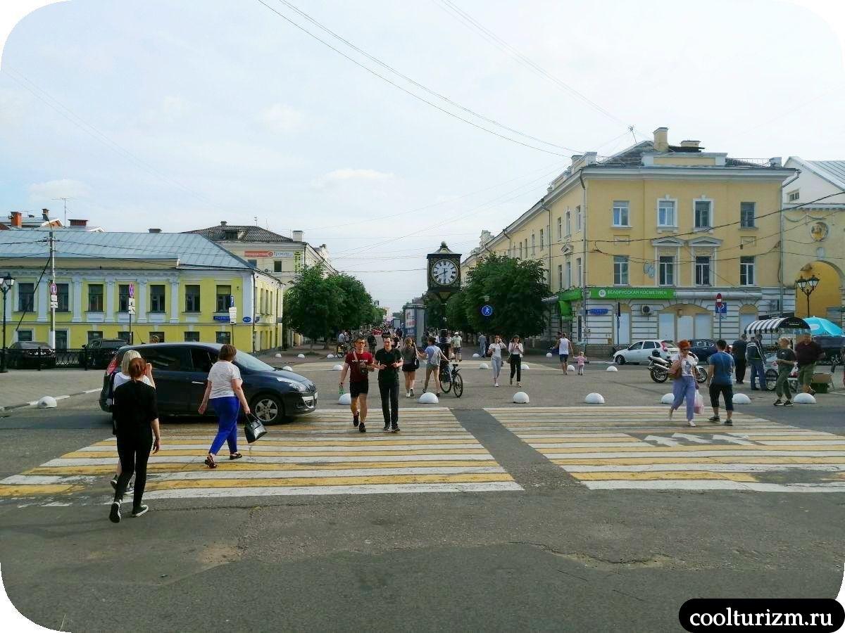улица Трехсвятская, Тверь, местный Арбат