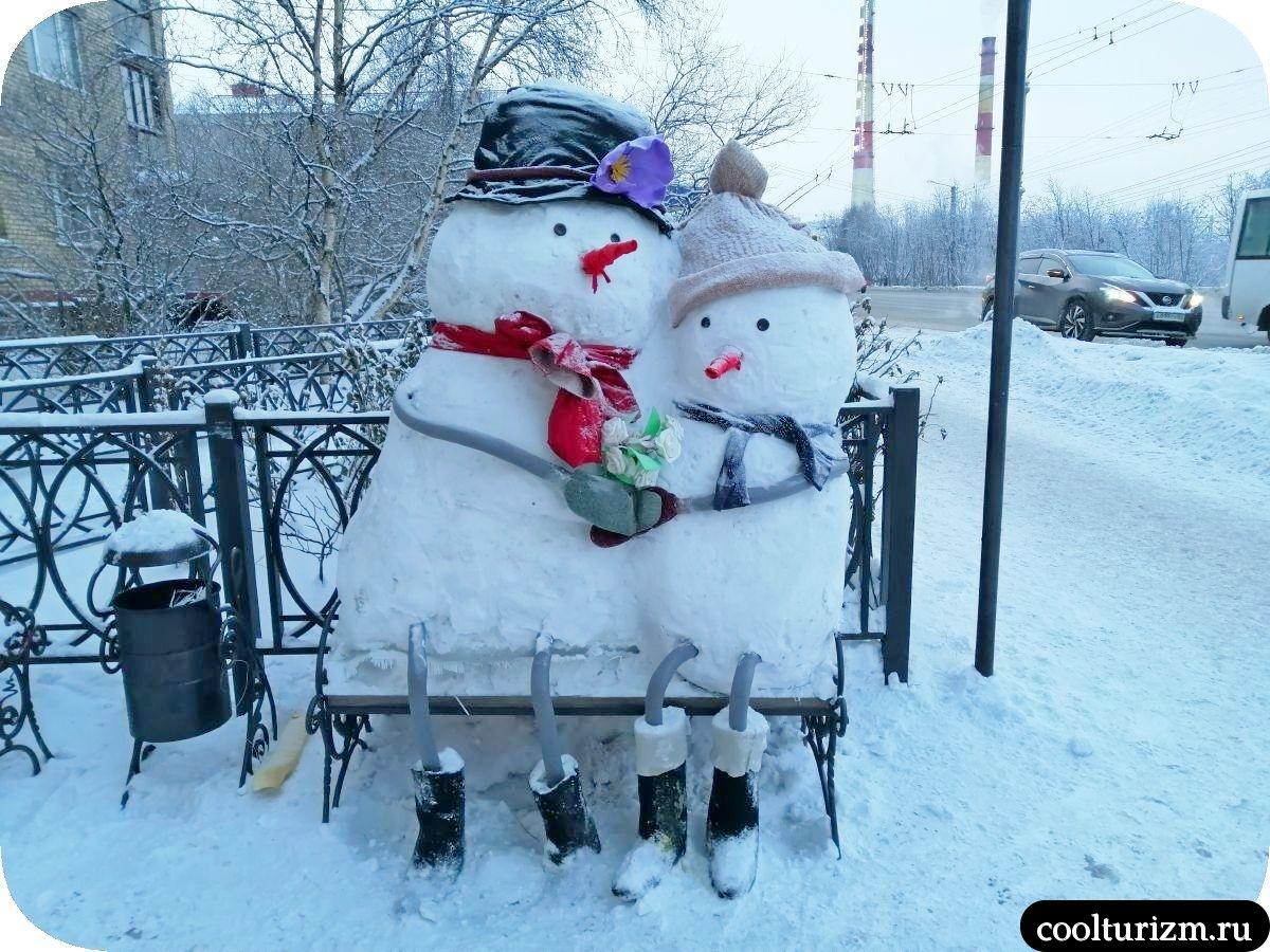 Милые снеговики Онегин Мурманск