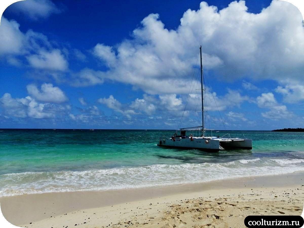 Пляж Бонита на берегу острова Кайо Сабиналь