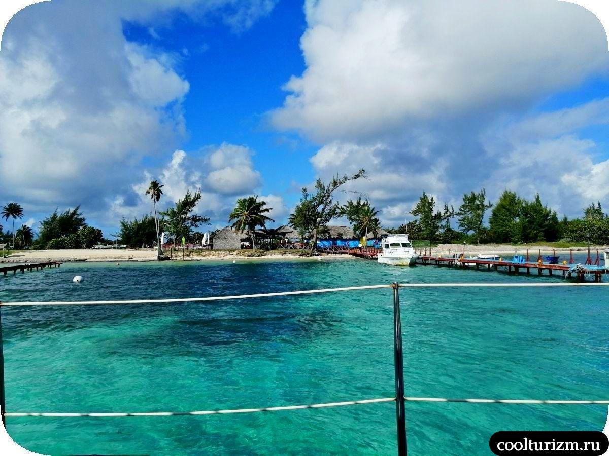 Пляж Playa Bonita Куба Атлантика