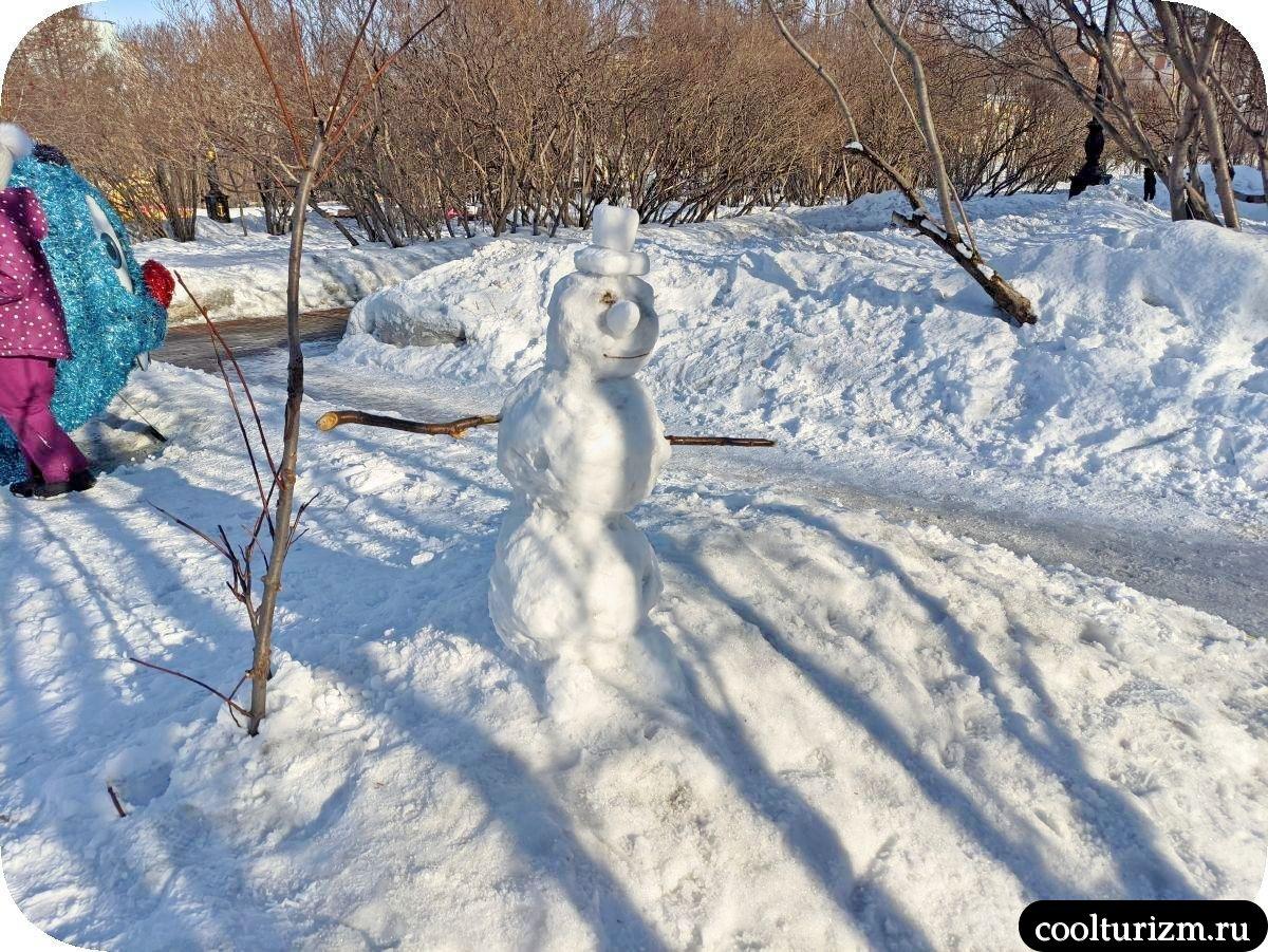 снеговик 5 углов