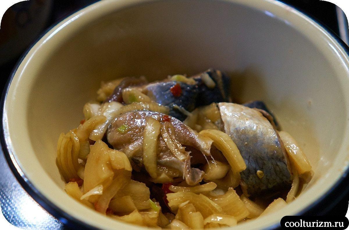 Рецепт скумбрии маринованной