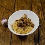 Хумус из соевых бобов