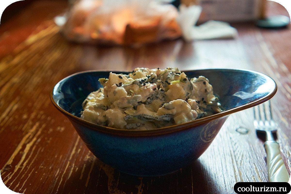 Салат с тунцом и картофелем рецепт