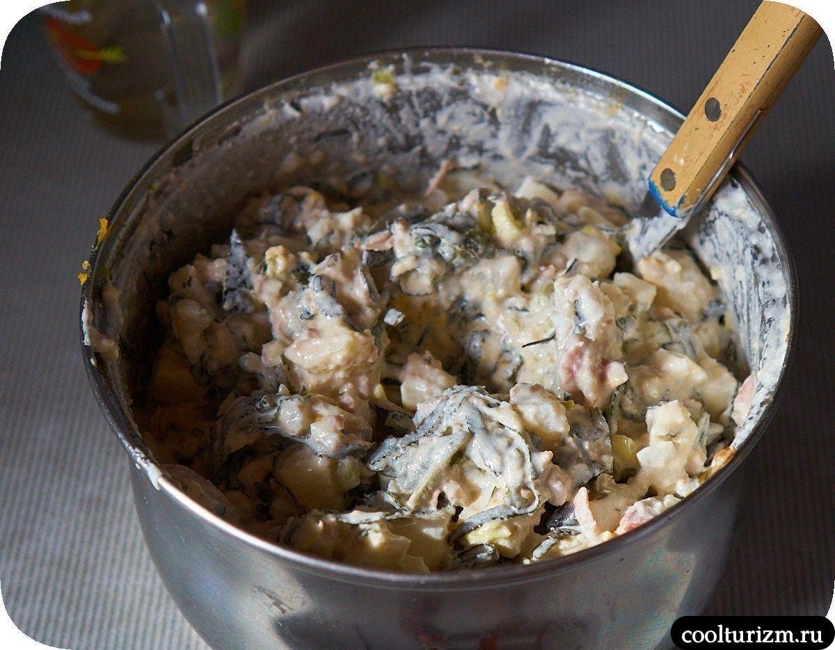 Салат с тунцом и картофелем как приготовить