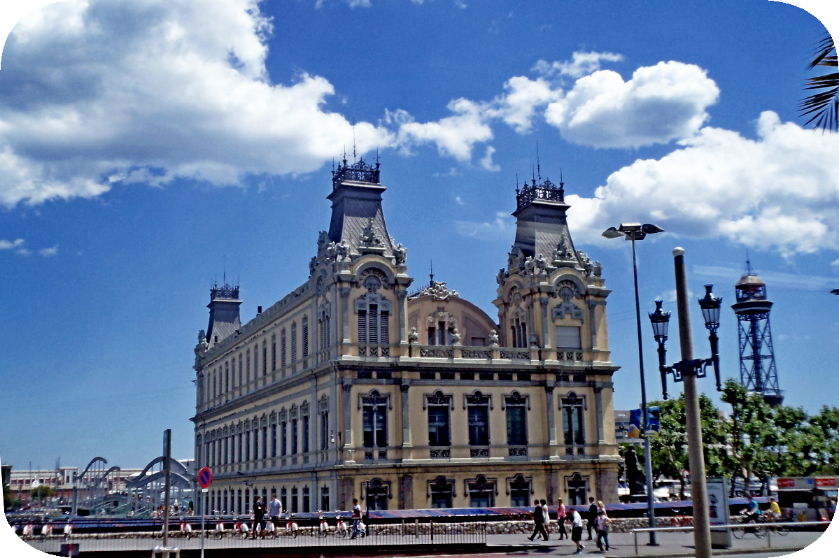 здание администрации порта Барселона