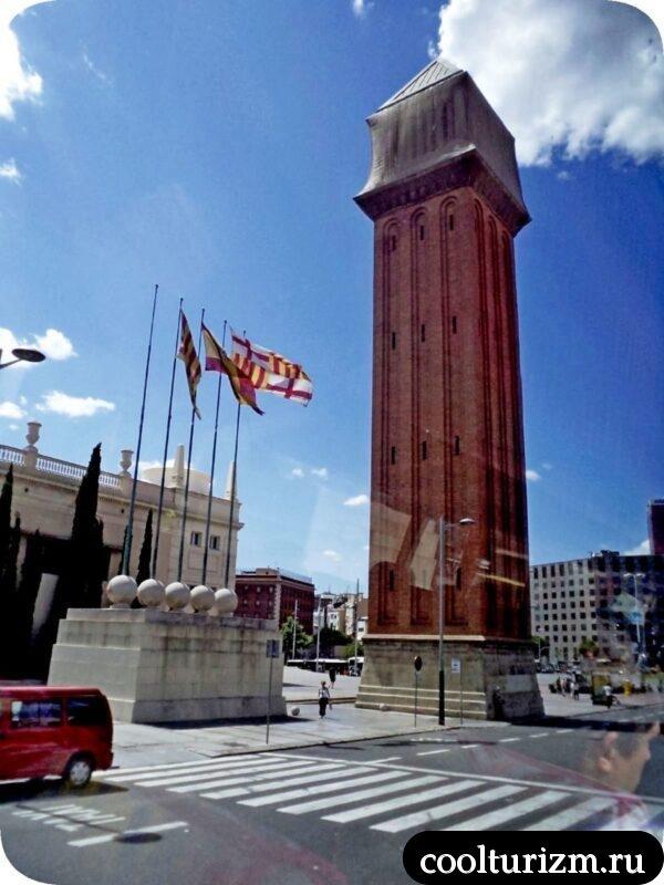 Венецианские башни Барселона