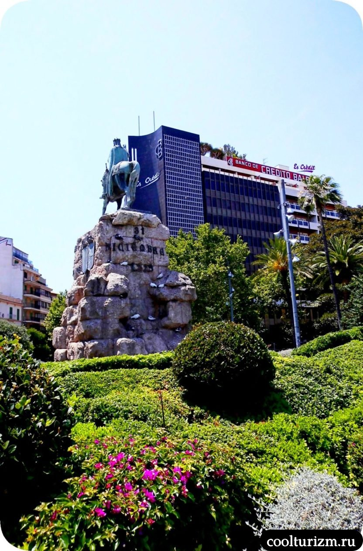 Площадь Испании в Пальме де Майорке Хайме 1