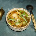 Суп с капустой пак чой
