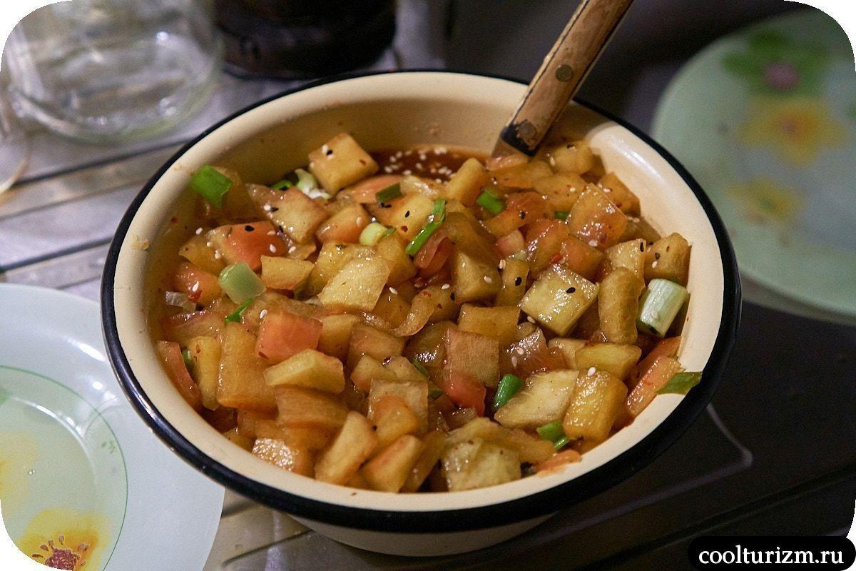 Кимчи из арбузных корок пошагово