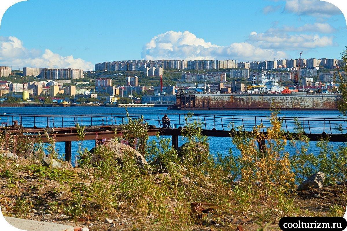 Абрам-мыс Мурманск панорама